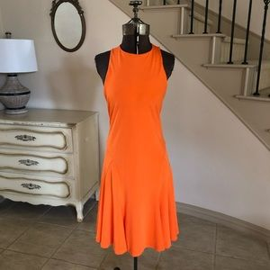 Polo Ralph Lauren Orange Sleeveless Dress